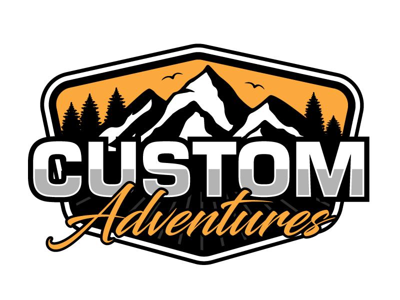 Custom Adventures Logo Design