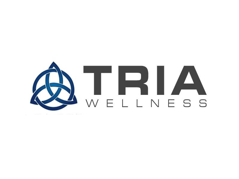 TRIA Wellness logo design by kunejo