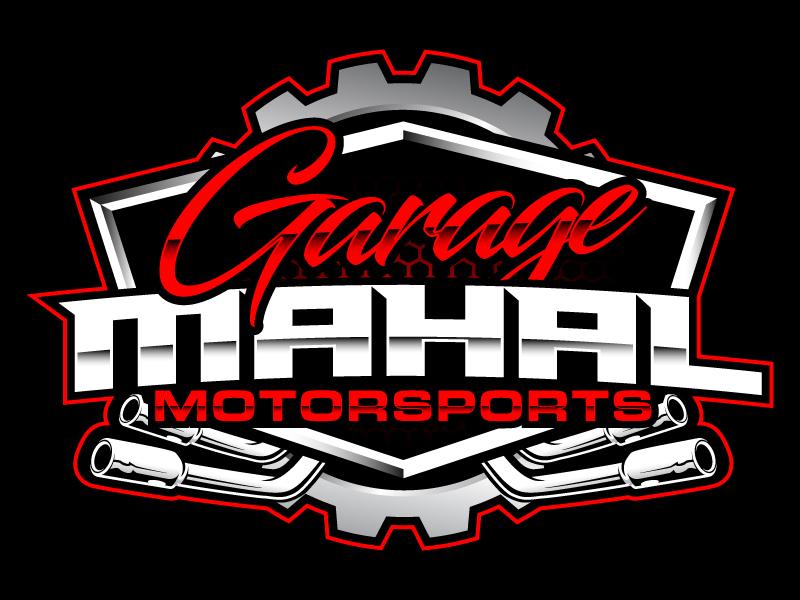 Garage Mahal Motorsports logo design by daywalker