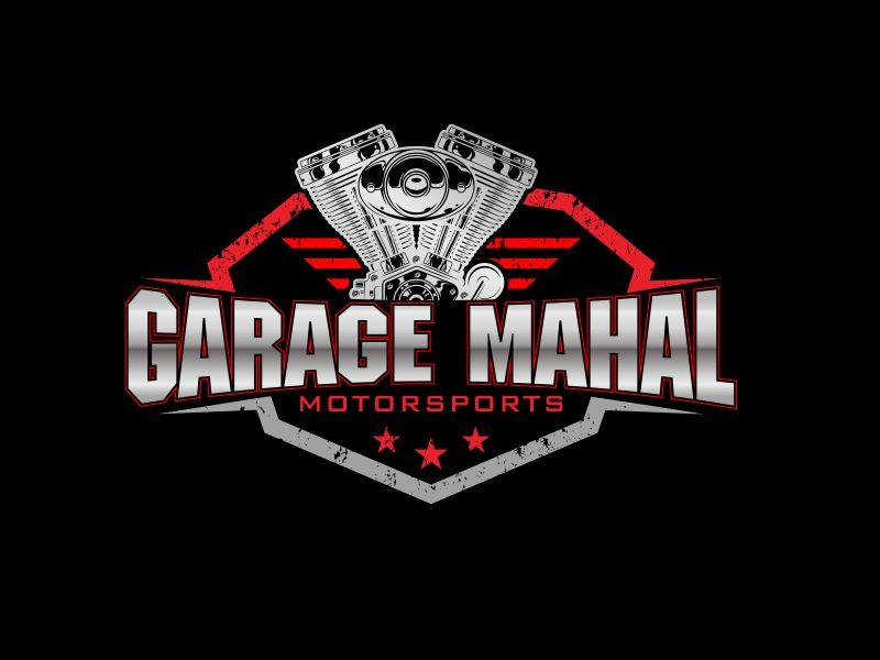 Garage Mahal Motorsports logo design by stark