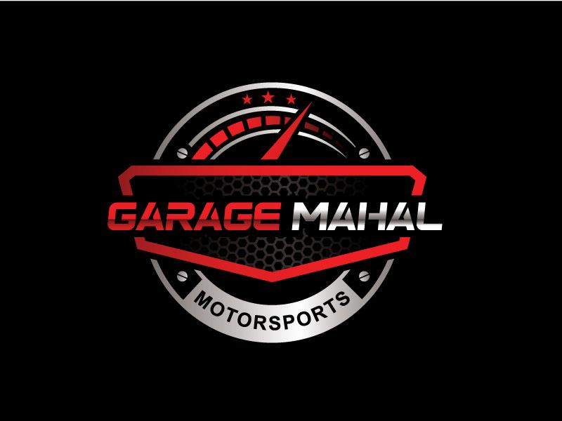 Garage Mahal Motorsports logo design by REDCROW