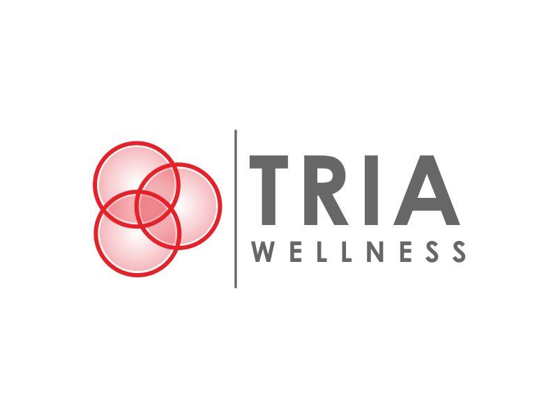 TRIA Wellness logo design by giphone