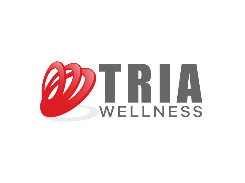 TRIA Wellness logo design by karjen