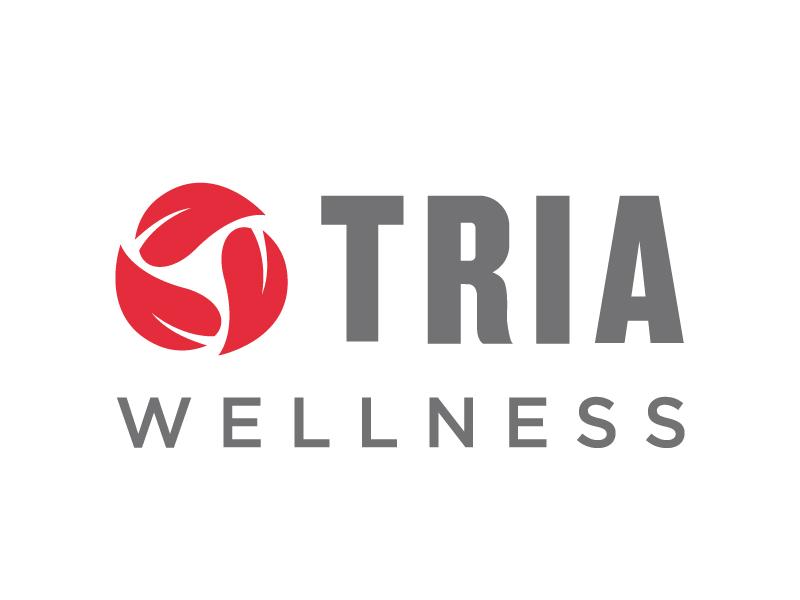 TRIA Wellness logo design by jonggol