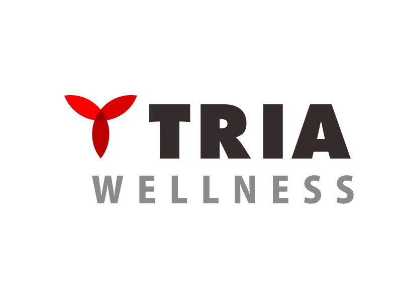 TRIA Wellness logo design by stark