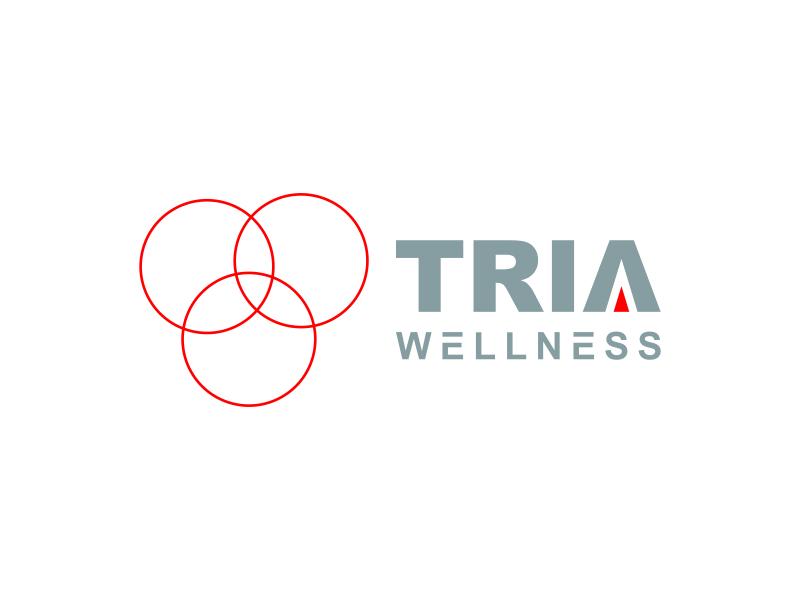 TRIA Wellness logo design by bomie