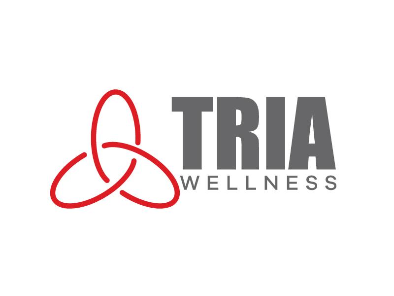 TRIA Wellness logo design by Kirito