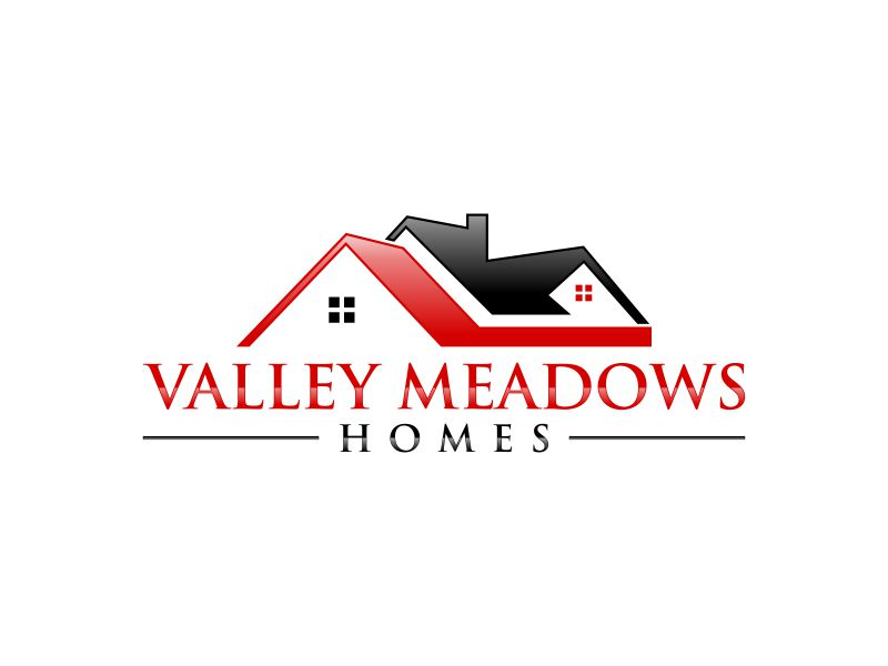 Valley Meadows Homes logo design by Gedibal