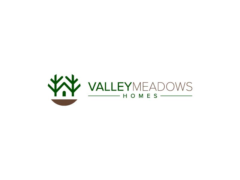 Valley Meadows Homes logo design by jafar