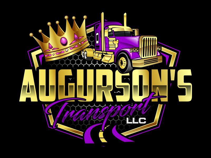 Augurson's Transport LLC logo design by kopipanas