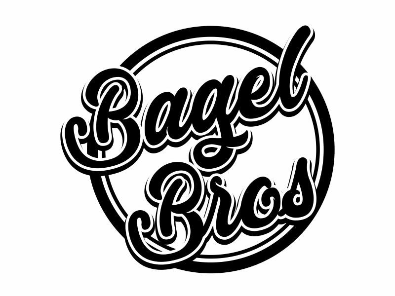 Bagel Bros logo design by rykos