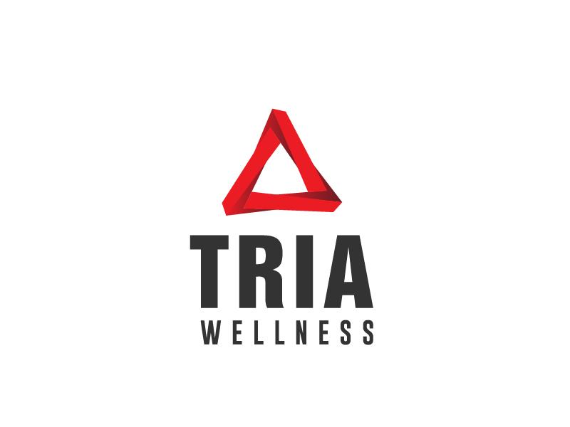TRIA Wellness logo design by Marianne