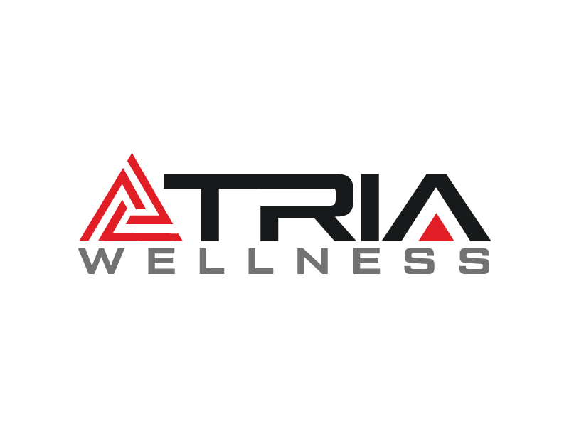TRIA Wellness logo design by Erasedink