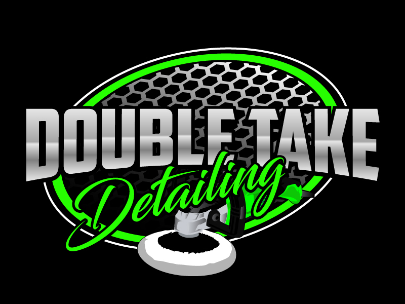 Double Take Detailing logo design by ElonStark