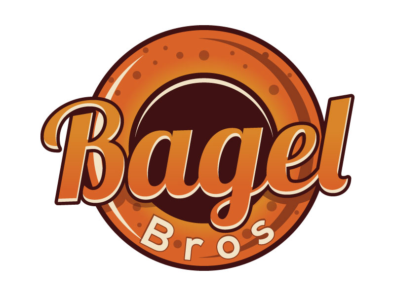 Bagel Bros logo design by Suvendu