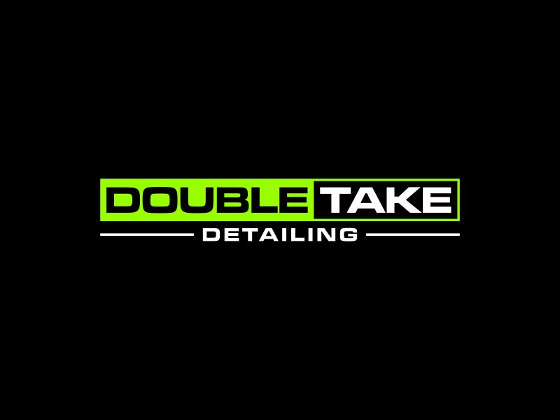Double Take Detailing logo design by dewipadi