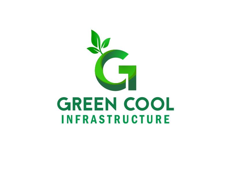 Green Cool Infrastructure logo design by stark