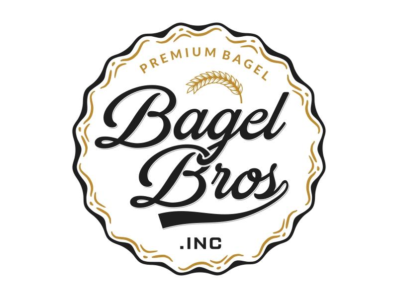 Bagel Bros logo design by Mardhi