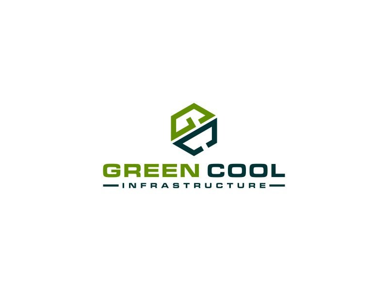 Green Cool Infrastructure logo design by hoqi