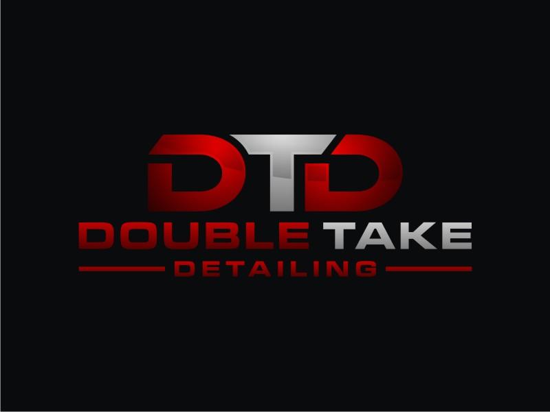 Double Take Detailing logo design by Arto moro