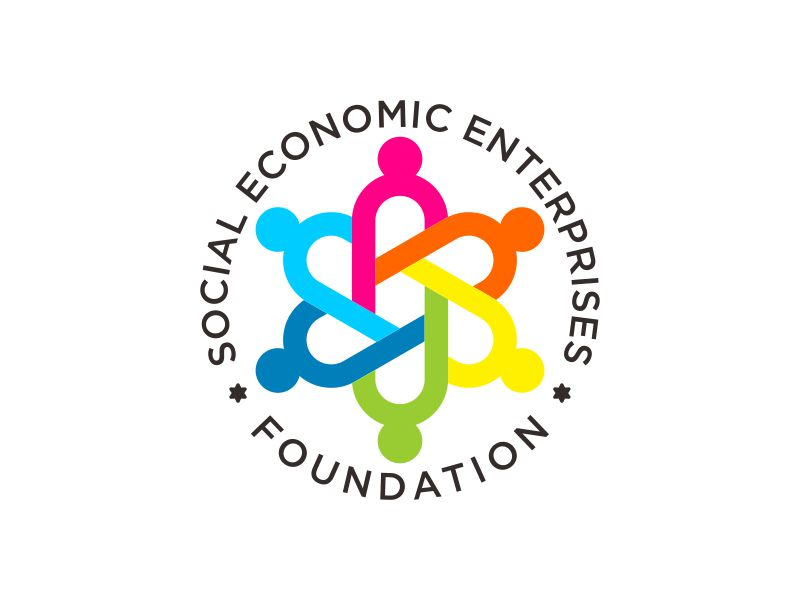 Social Economic Enterprises Foundation logo design by veter