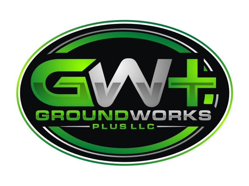 Groundworks Plus LLC logo design by Arto moro