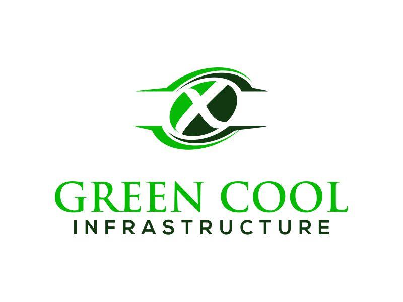Green Cool Infrastructure logo design by MUNAROH