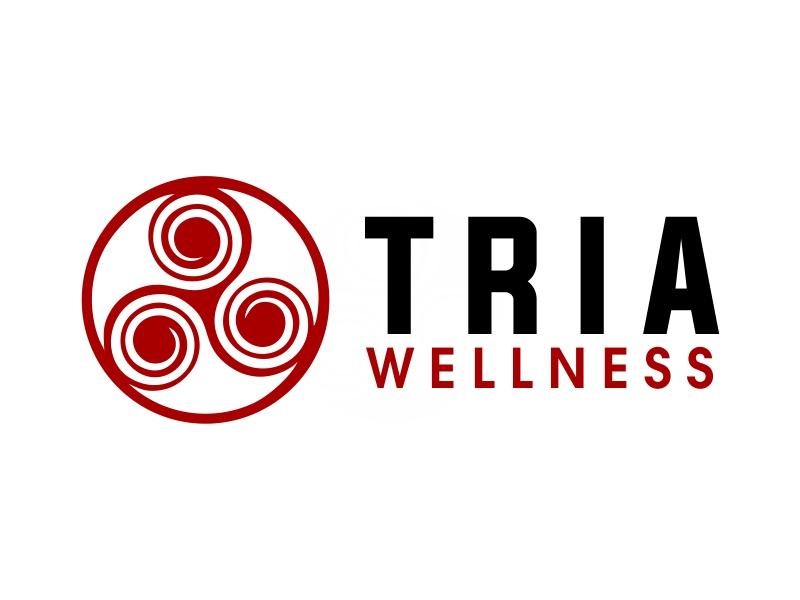 TRIA Wellness logo design by JessicaLopes