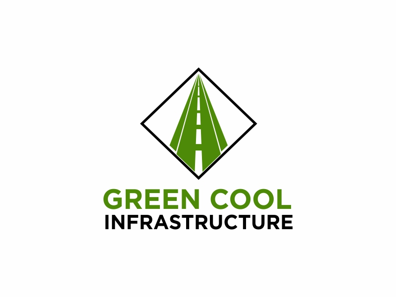Green Cool Infrastructure logo design by Greenlight