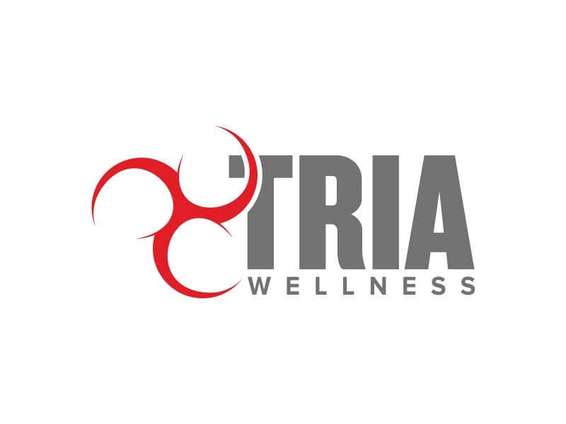 TRIA Wellness logo design by ekitessar