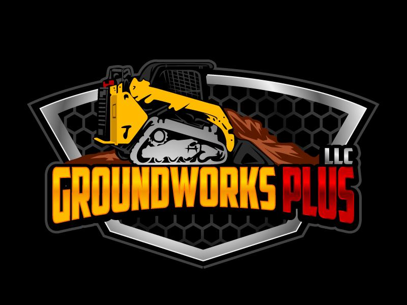 Groundworks Plus LLC logo design by aRBy