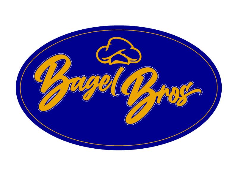 Bagel Bros logo design by Carli Yario Lindahl