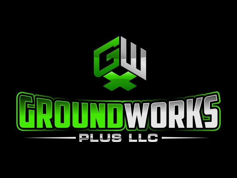 Groundworks Plus LLC logo design by rizuki