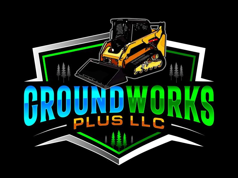 Groundworks Plus LLC logo design by AnandArts