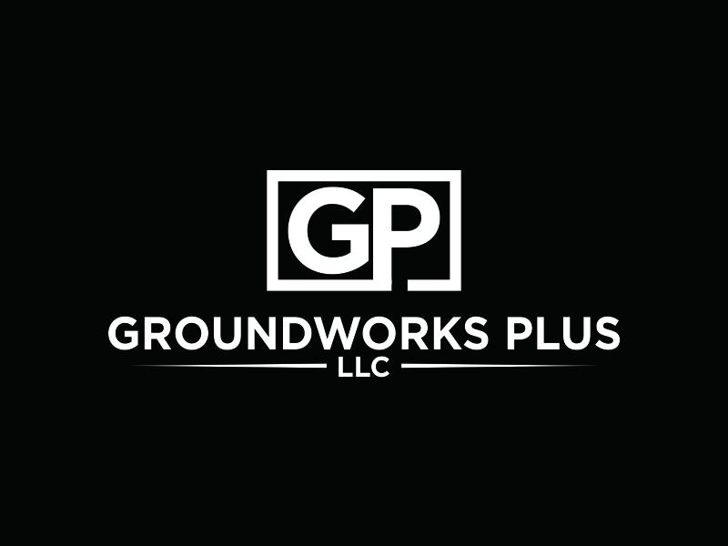 Groundworks Plus LLC logo design by Greenlight