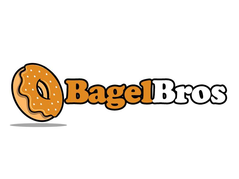 Bagel Bros logo design by kunejo