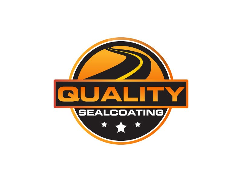 Quality Sealcoating logo design by ElonStark