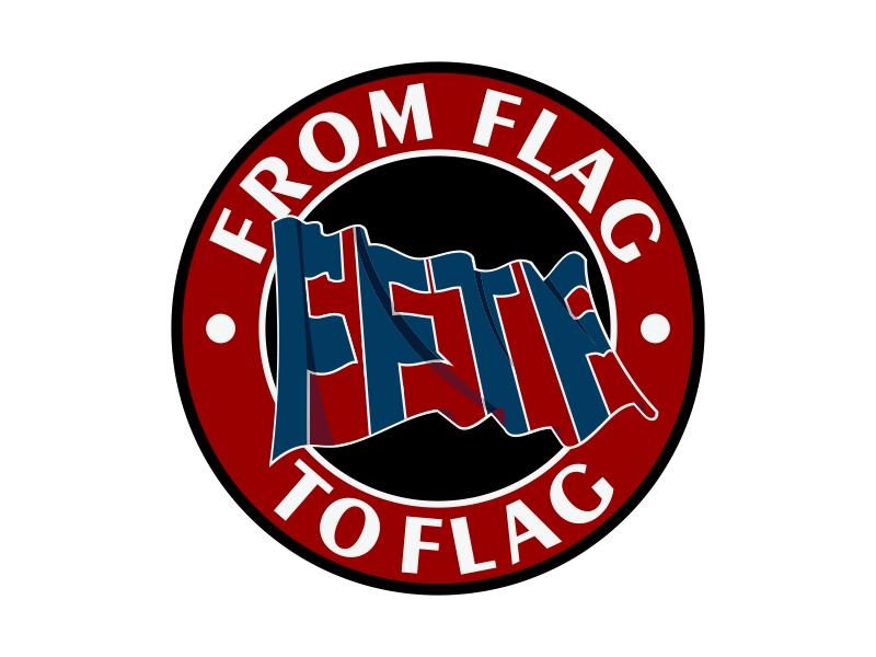From Flag to Flag logo design by Kruger