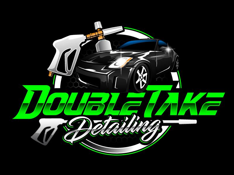 Double Take Detailing logo design by daywalker