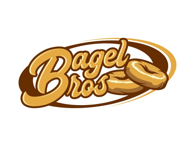 Bagel Bros logo design by daywalker