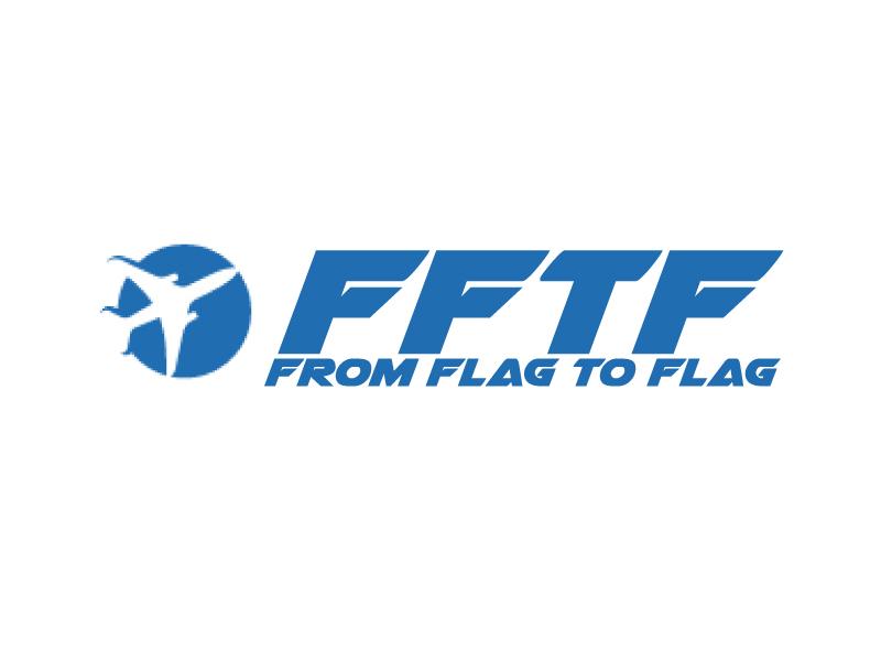 From Flag to Flag logo design by ElonStark