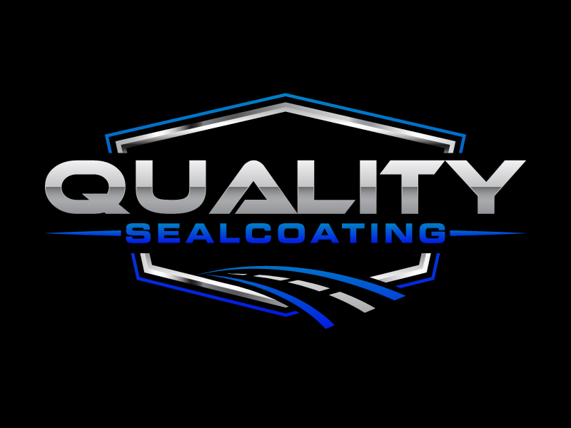 Quality Sealcoating logo design by Kirito