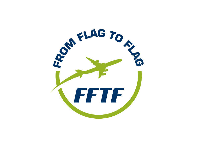 From Flag to Flag logo design by Kirito