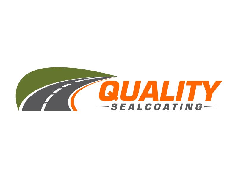 Quality Sealcoating logo design by karjen