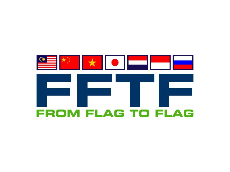 From Flag to Flag logo design by karjen