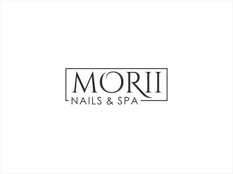 MORII NAILS & SPA logo design by Shabbir