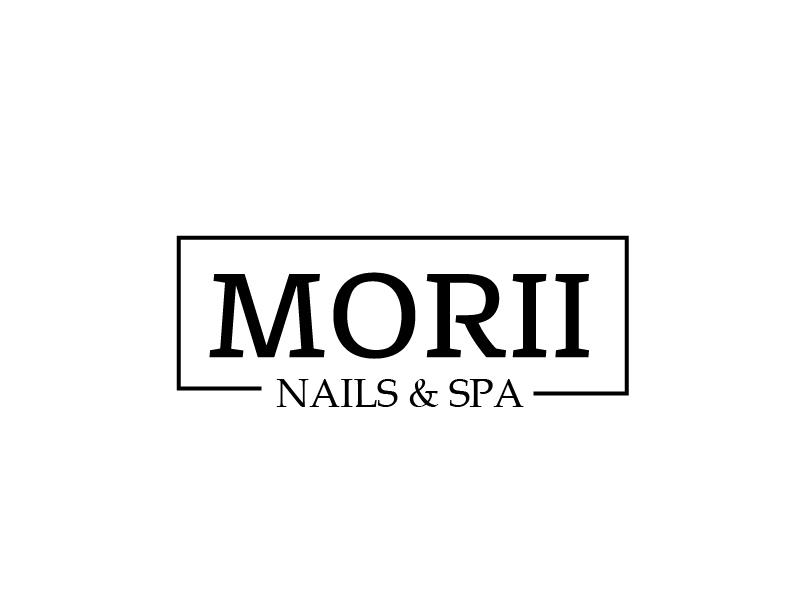 MORII NAILS & SPA logo design by il-in