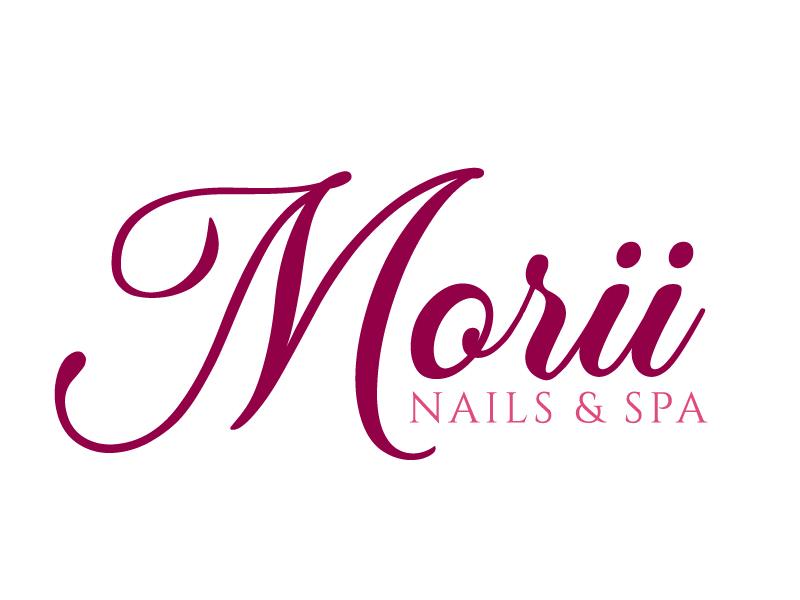 MORII NAILS & SPA logo design by jaize