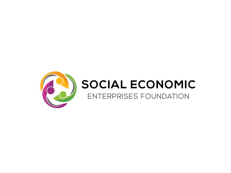 Social Economic Enterprises Foundation logo design by robiulrobin