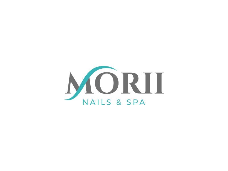 MORII NAILS & SPA logo design by CreativeKiller